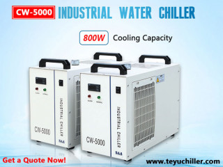 Хладњак воде CW5000 за ласерске сечиве без метала